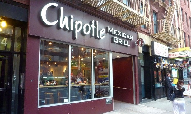Chipotle Mexican Grill restaurants