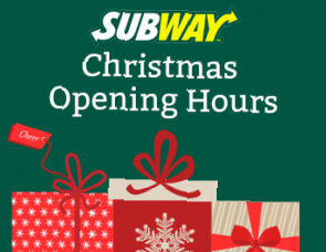 Subway Holiday Hours