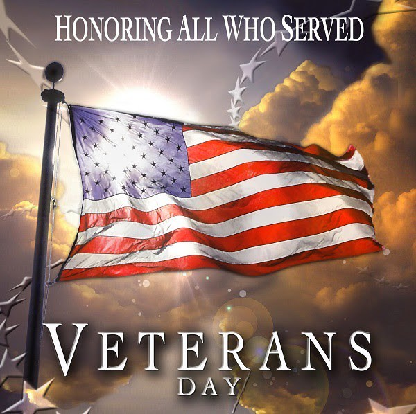 Veterans Day Friday November 11