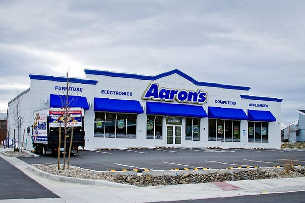 Aaron's Hours Open AND Closed