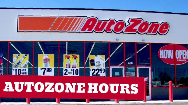 Autozone Holiday Hours Open & Closed