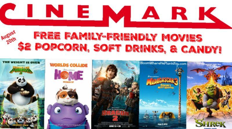 Cinemark Theaters Hours
