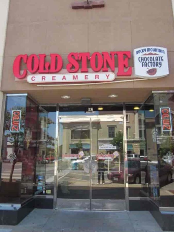 Cold Stone Creamery Holiday Hours